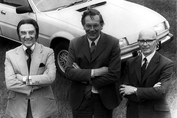 David Bache,  Spen King  e Gordon  Bashford