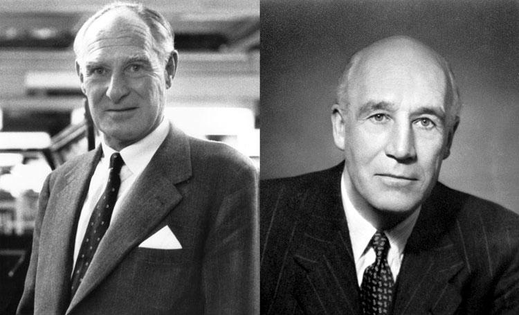 Maurice Cary Ferdinand Wilks e Spencer Bernau Wilks